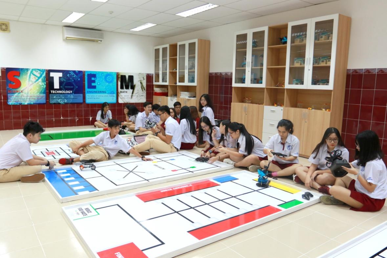 Trải nghiệm phòng học công nghệ 4.0 ở Asian School