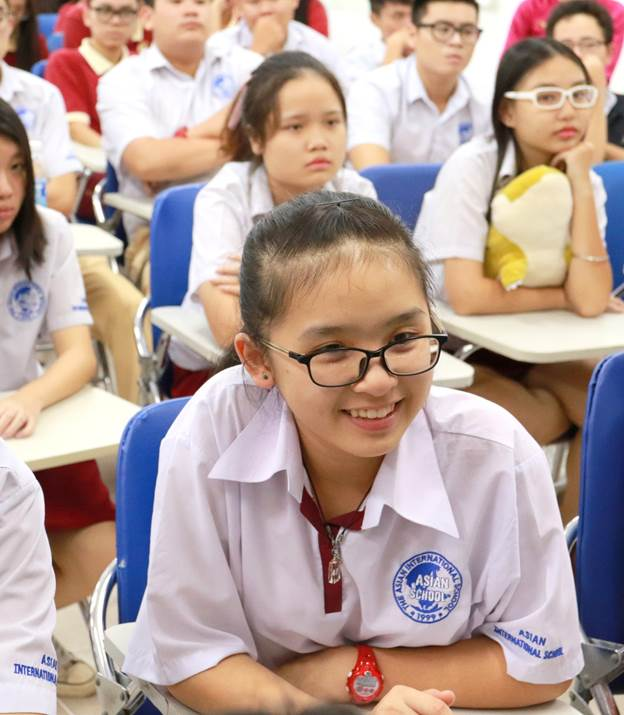 Học sinh Asian School tham dự hội thảo của Giáo sư Đại học Newcastle (Úc)