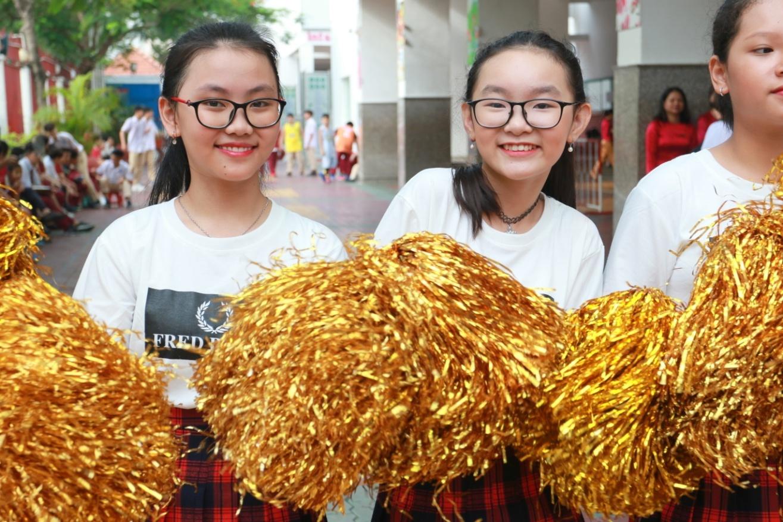 Tưng bừng sắc màu ngày hội thể thao Asian School 2018