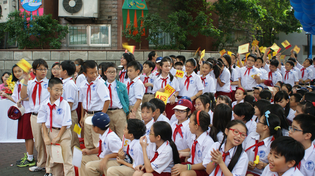 The Asian International School hold an opening ceremony of the