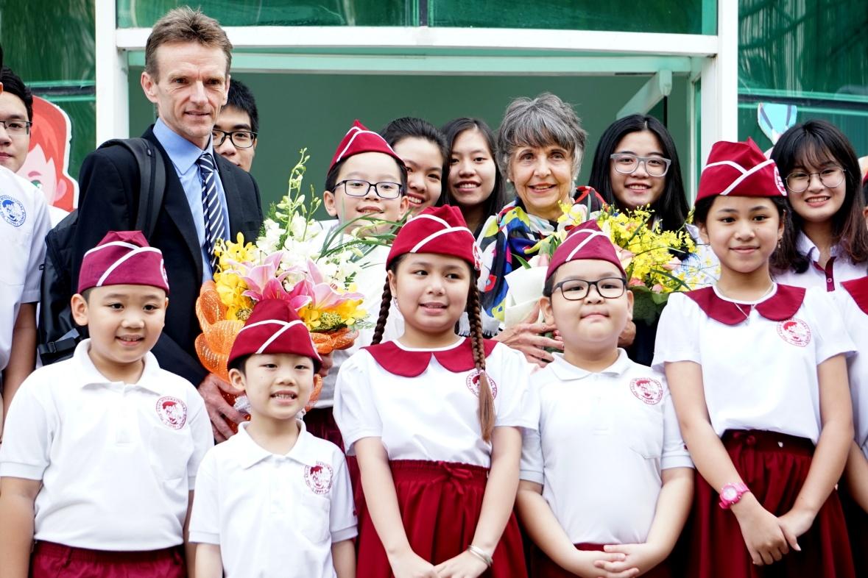 CIS và WASC thực hiện kiểm định chất lượng giáo dục tại Trường Quốc tế Á Châu