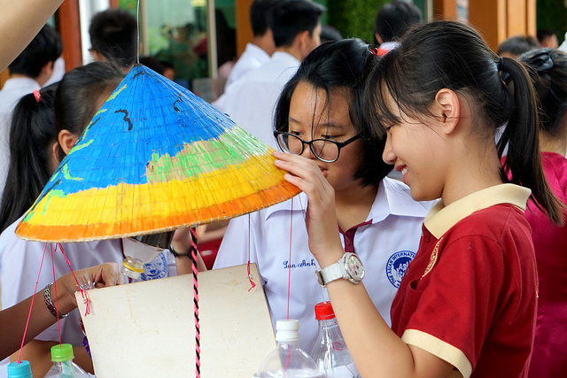 Học sinh Trường Quốc tế Á Châu Vui hội trăng rằm 2018